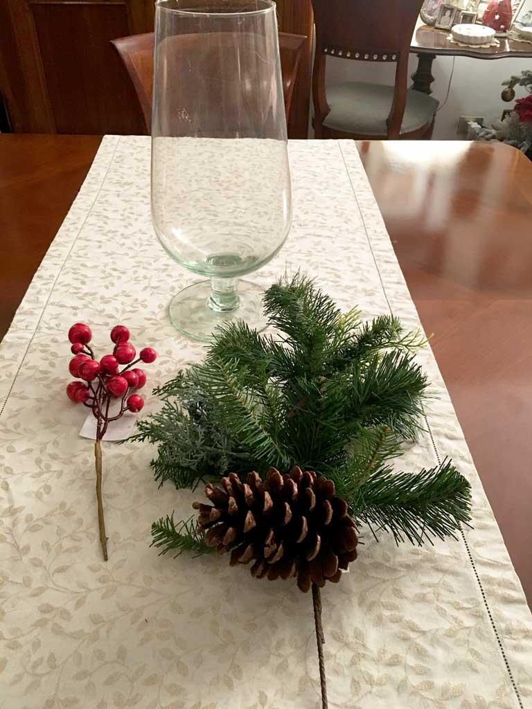 Addobbi natalizi per decorare casa cos ho decorato la mia - Addobbi natalizi per tavola da pranzo ...