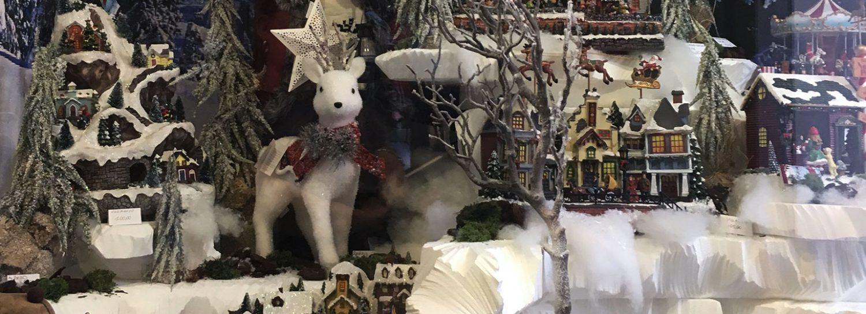 Vetrine di Natale 2017 i Paesaggi Innevati