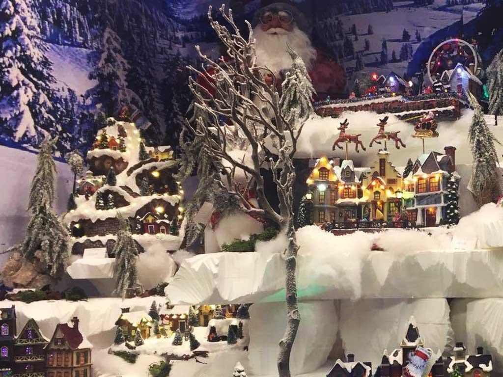Immagini Di Natale Paesaggi.Vetrine Di Natale 2017 Come Realizzare I Paesaggi Innevati