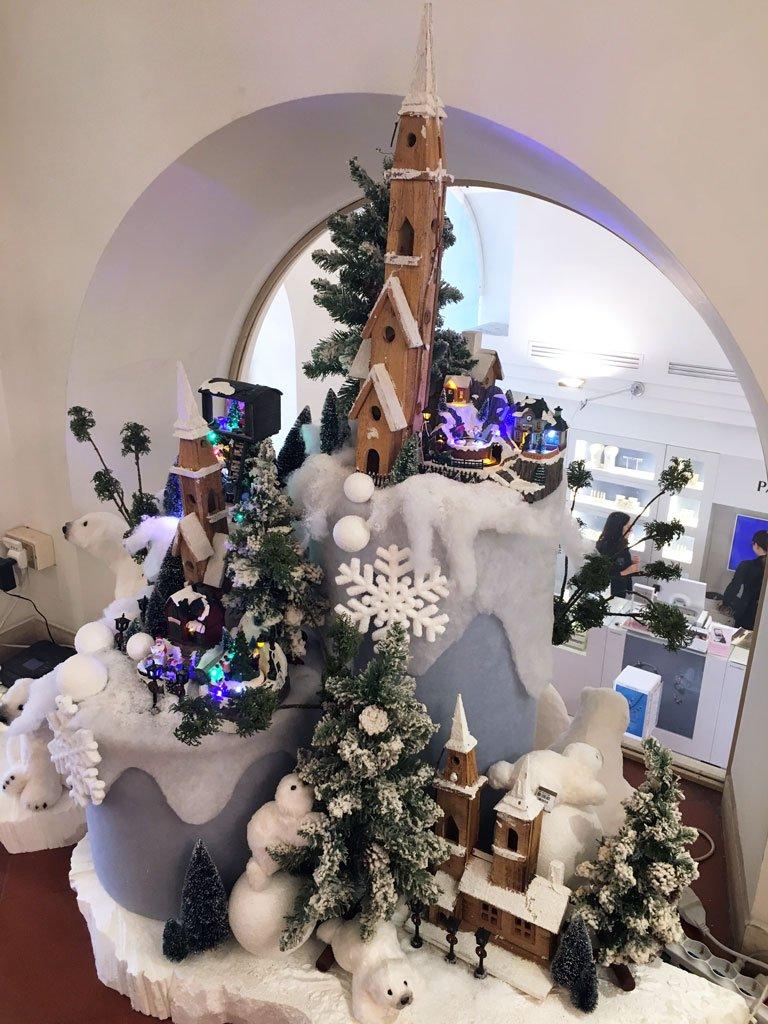 Vetrine Di Natale.Vetrine Di Natale 2017 Come Realizzare I Paesaggi Innevati