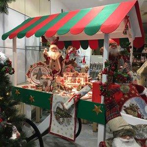 Espositori Natalizi e Scenografie per realizzare le Vetrine di Natale 2017