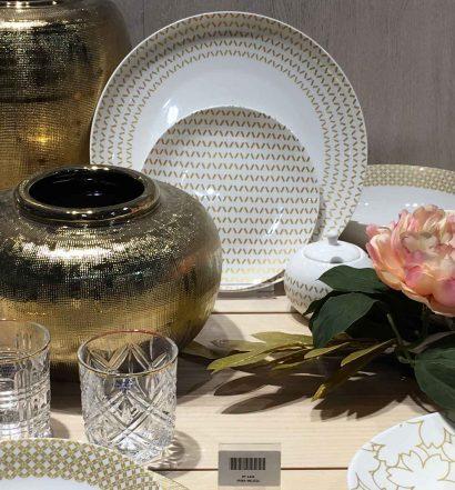 Utilizzare il color oro nell'interior design