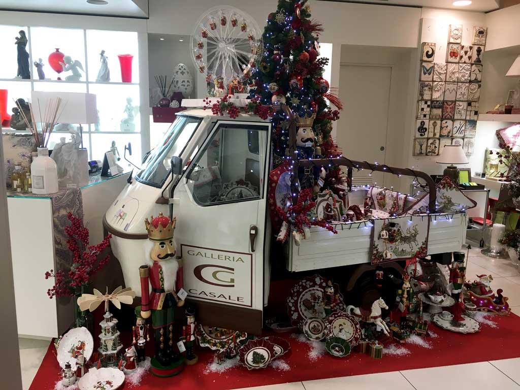 Vetrine di Natale 2019 presso Galleria Casale a Rionero in Vulture