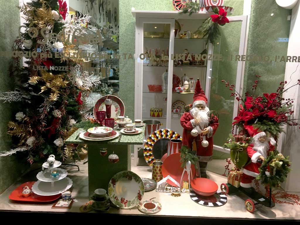 Vetrine di Natale Tradizionali